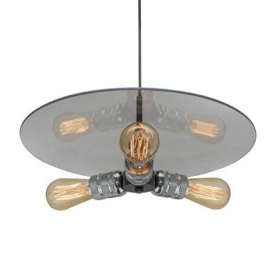 Altavola Design Techno Loft lampa wisząca 3x40W chrom LA017/P3_chrom