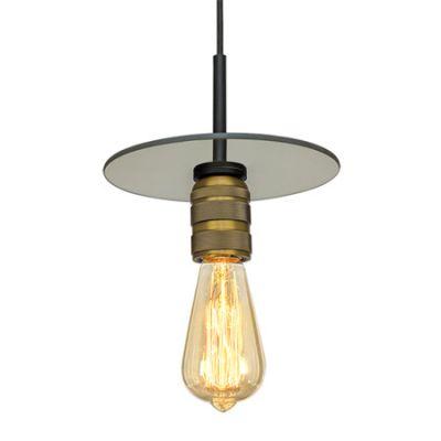 Altavola Design Techno Loft lampa wisząca 1x40W bursztynowy/złoty LA017/P_gold