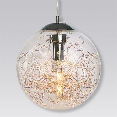 Altavola Design Glamour lampa wisząca 4W+40W przezroczysty LA068/P_C