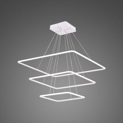 Altavola Design Ledowe Kwadraty lampa wisząca 116W biała LA072/P_80_out_4k_white