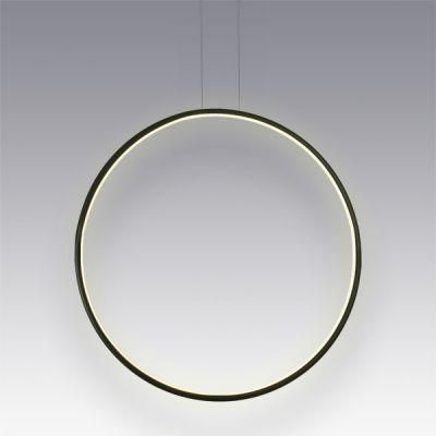 Altavola Design Ledowe Okręgi lampa wisząca 1x32W czarny LA073/X_60_in_3k_black