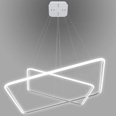 Altavola Design Ledowe Kwadraty lampa wisząca 64W biała LA077/P_60_out_3k_white