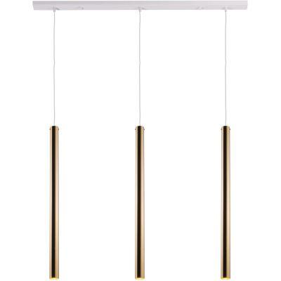 Amplex Akadi lampa wisząca 3x25W biała/złota 0143