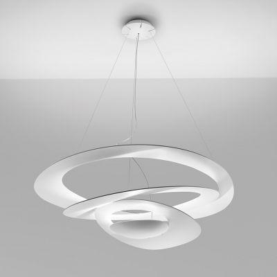 Artemide Pirce lampa wisząca 1x330W biała 1239010A