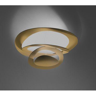 Artemide Pirce Mini LED lampa podsufitowa 1x44W 3000K złota 1255120A