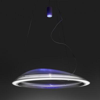 Artemide Ameluna RGB lampa wisząca 1x45W podświetlenie RGB przezroczysty 1402010APP