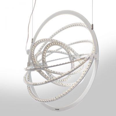 Artemide Copernico 500 lampa wisząca 1x27W biała 1608030A