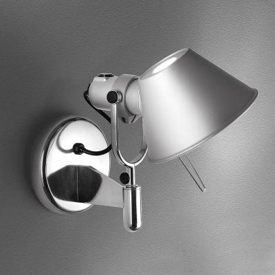 Artemide Tolomeo Faretto kinkiet 1x77W aluminium A029250