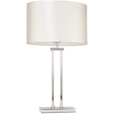 CosmoLight Athens lampa stołowa 1x40W biały/chrom T01444WHCR
