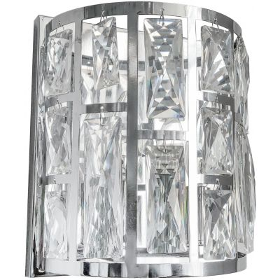 CosmoLight Moscow II kinkiet 2x40W chrom/kryształ W02872CH
