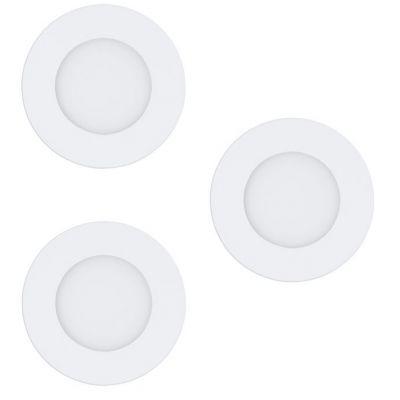 Eglo Fueva-C lampa do zabudowy 3x3W biała 32881