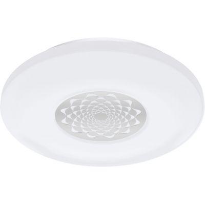 Eglo Capasso-C plafon 1x17W chrom/biały 96821