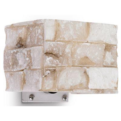 Ideal Lux Carrara kinkiet 1x40W alabaster 000619