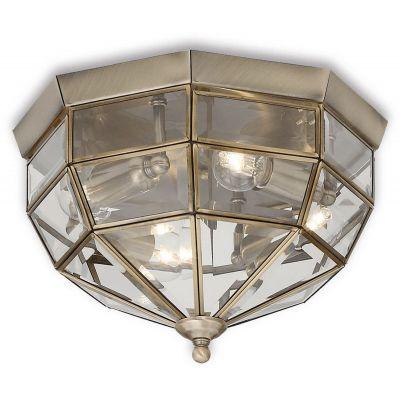 Ideal Lux Norma plafon 3x40W patyna 004426