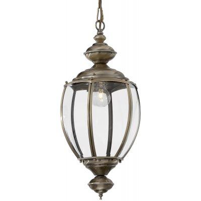 Ideal Lux Norma lampa wisząca 1x60W patyna 005911