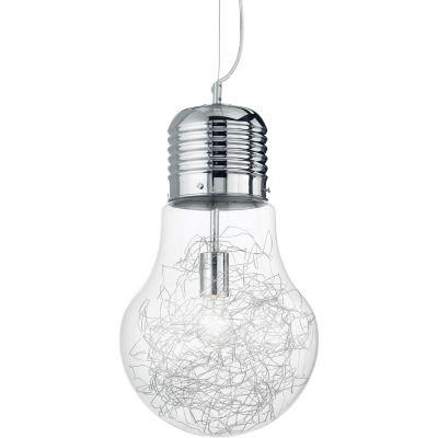 Ideal Lux Luce Max lampa wisząca 1x60W aluminiowa 033662