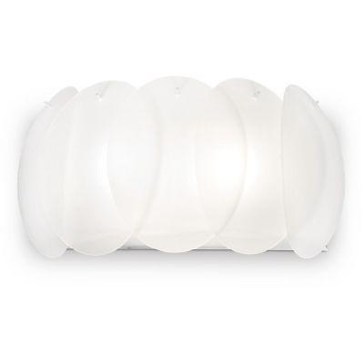 Ideal Lux Ovalino kinkiet 2x60W biały 038025