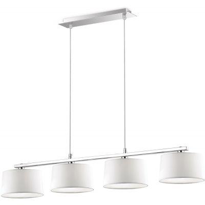 Ideal Lux Hilton lampa wisząca 4x28W biała 075495