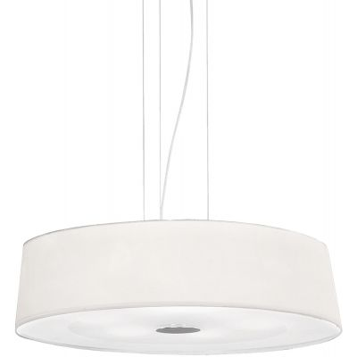 Ideal Lux Hilton lampa wisząca 4x60W biała 075501