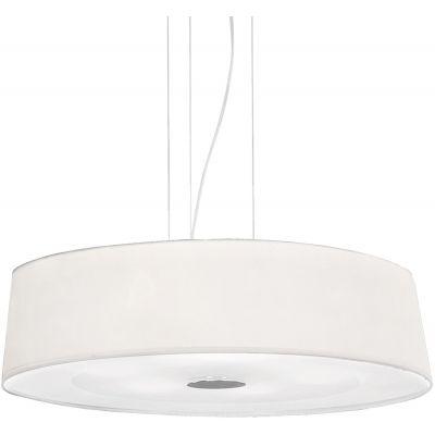 Ideal Lux Hilton lampa wisząca 6x60W biała 075518