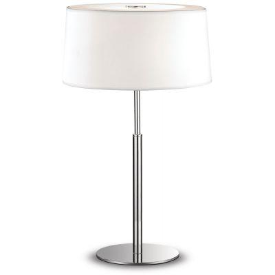 Ideal Lux Hilton lampa stołowa 2x40W biała 075532