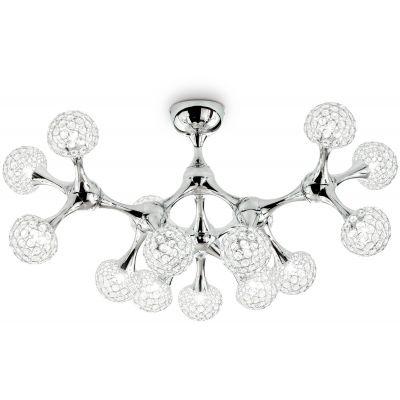 Ideal Lux Nodi Crystal lampa wisząca 15x40W chrom 093512