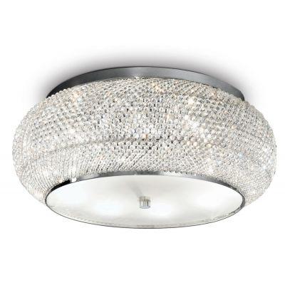 Ideal Lux Pasha lampa podsufitowa 10x40W chrom 100746