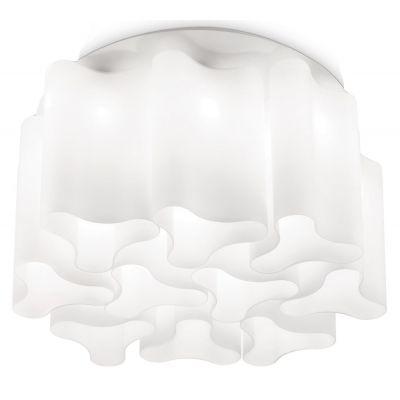 Ideal Lux Compo lampa podsufitowa 10x60W biała 125510