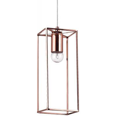 Ideal Lux Volt SP1 lampa wisząca 1x60W miedziana 137124