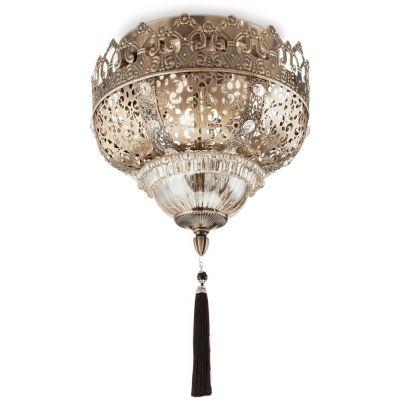 Ideal Lux Harem lampa podsufitowa 3x42W patyna 139609