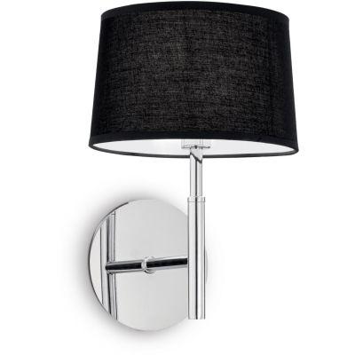 Ideal Lux Hilton kinkiet 1x28W czarny 164601