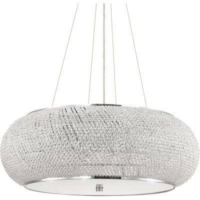 Ideal Lux Pasha lampa wisząca 6x40W chrom 082158