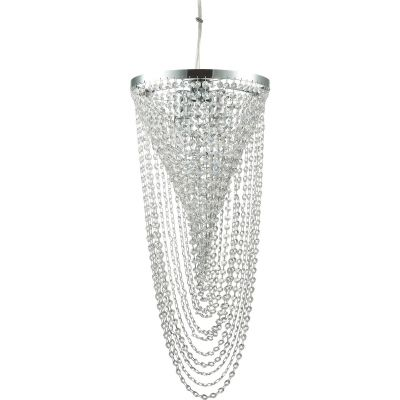 Ideal Lux Pearl lampa wisząca 4x40W chrom 211541