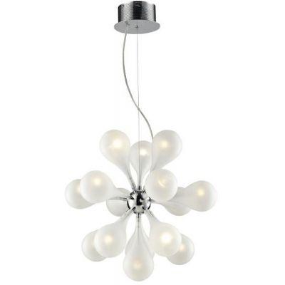 Lampex Avia lampa wisząca 15x10W chrom 299/15
