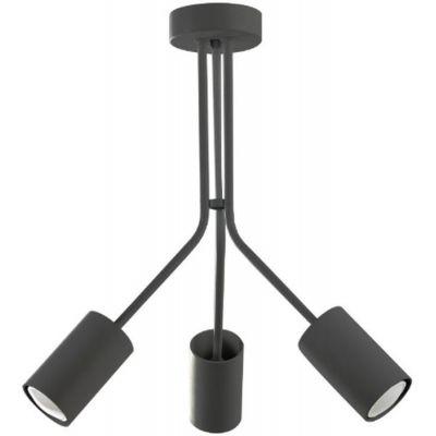 Lampex Mateo 3 lampa wisząca 3x40W czarna 528/3CZA