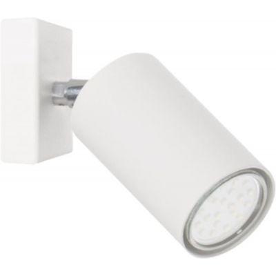 Lampex Rolos kinkiet 1x40W biały 558/KBIA