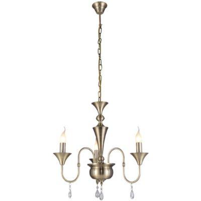 Lampex Andy 3 lampa wisząca 3x60W patyna 602/3