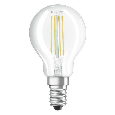 Ledvance Retrofit Classic P żarówka LED 1x4W przezroczysta