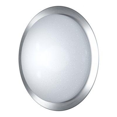 Ledvance Orbis Tray Sparkle 580 plafon 1x35W biały matowy/nikiel szczotkowany