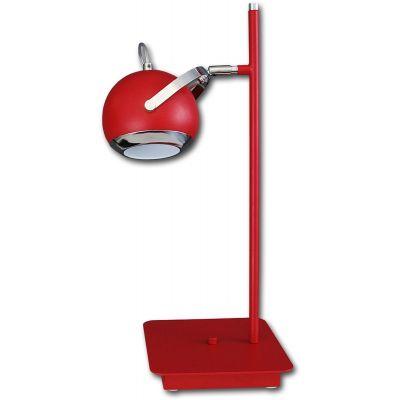 Lis Poland Scotti lampa biurkowa 1x40W czerwona 4467BH04