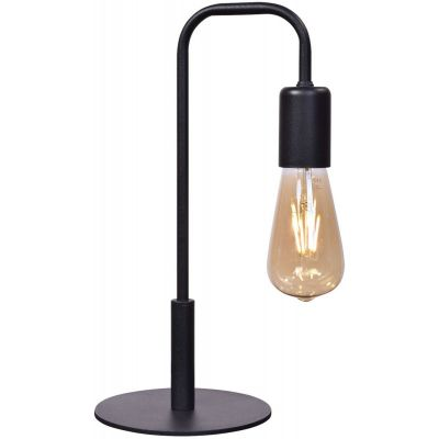Lis Poland Atol lampa biurkowa 1x40W czarna 5954BH02