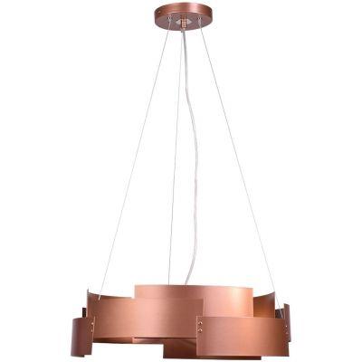 Lis Poland Tori lampa wisząca 3x40W miedziana 6000ZH62