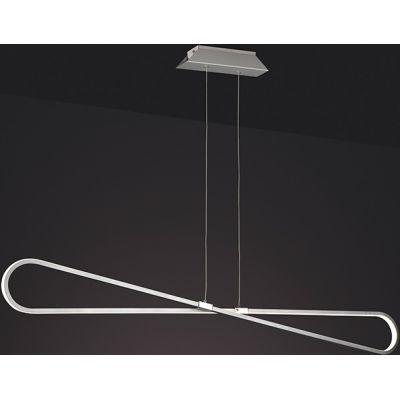 Mantra Bucle lampa wisząca 1x42W LED chrom 5870