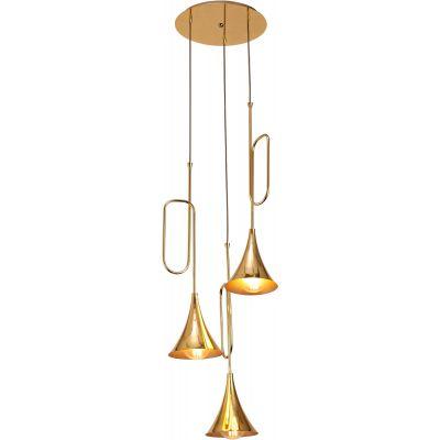 Mantra Jazz lampa wisząca 3x20W złoty/czarny 5896