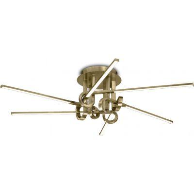 Mantra Cinto lampa podsufitowa 6x42W LED złoty 6129
