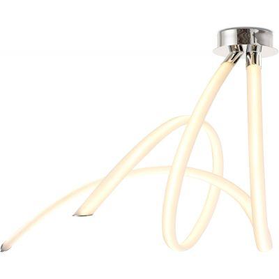 Mantra Armonia lampa podsufitowa 2x60W LED biały/chrom 6722