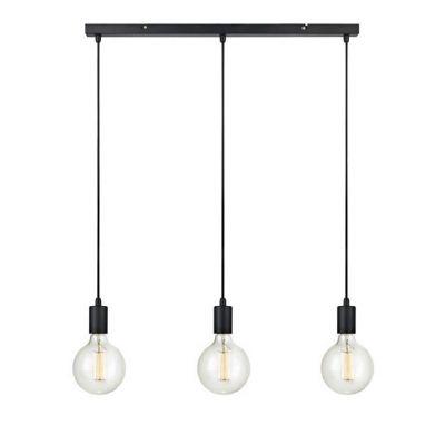 Markslöjd Sky lampa wisząca 3x60W czarna 106336