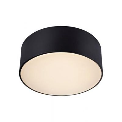 Markslöjd Facile plafon 1x9W czarny/biały 106567