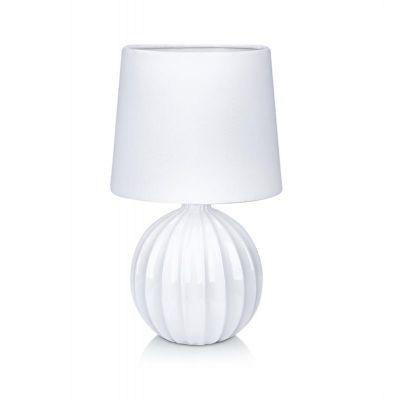 Markslöjd Melanie lampa stołowa 1x40W biała 106884