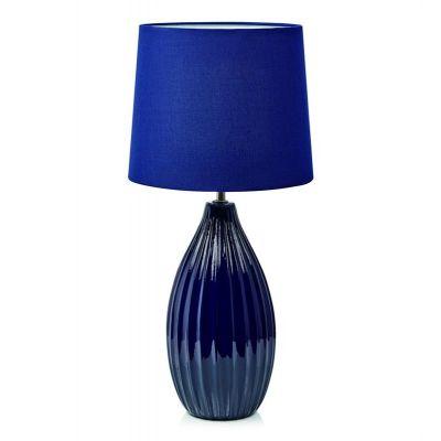 Markslöjd Stephanie lampa stołowa 1x60W niebieska 107109